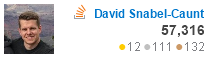 profile for David Snabel-Caunt at Stack Overflow, Q&A for professional and enthusiast programmers