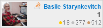 profile for Basile Starynkevitch at Stack Overflow, Q&A for professional and enthusiast programmers