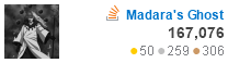 profile for Madara's Ghost at Stack Overflow, Q&A for professional and enthusiast programmers