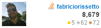 profile for fabriciorissetto at Stack Overflow, Q&A for professional and enthusiast programmers