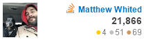 profile for Matthew Whited at Stack Overflow, Q&A for professional and enthusiast programmers