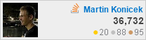 profile for Martin Konicek at Stack Overflow