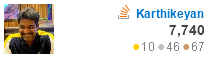 profile for Karthikeyan Vaithilingam at Stack Overflow, Q&A for professional and enthusiast programmers