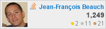 Profile for Jean-François Beauchef at Stack Overflow, Q&A for professional and enthusiast programmers