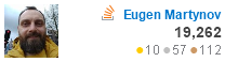 profile for Eugen Martynov at Stack Overflow, Q&A for professional and enthusiast programmers